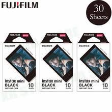 <b>Fujifilm Instax</b> Mini 8 <b>9</b> пленка черная <b>рамка</b> Fuji моментальная ...