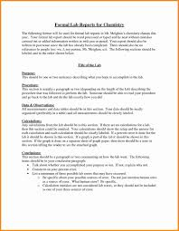 Example Of A Lab Report Lab Report Example Lab Reports Ought To Be Meticulous In Order To
