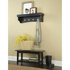 Bench And Coat Rack Set Ashland Storage Hall Tree House Pinterest Hall Storage and House 67