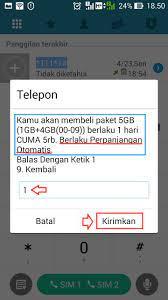 Kirim pesan ke 234 dengan format stop (spasi)au5gb atau stop (spasi)new5gb1d. Cara Paket Tri Kuota 5gb Rp5 000 Cara Stop Paketan Internetnya Nanda Hero