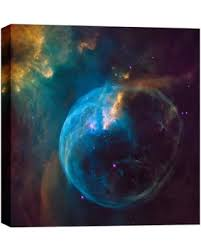 >amazing deal on epic graffiti bubble nebula hubble space telescope  epic graffiti bubble nebula hubble space telescope giclee canvas wall art 18