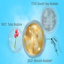 The price is too high, it's in a bubble and it's going to pop… Bubbles 1637 Tulip Mania 1720 South Sea Bitcoin Chard