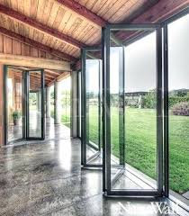interior accordion glass doors. Collapsible Glass Doors On Folding Patio Accordion And Frameless . Interior H