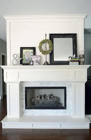 Fireplace Mantels Pictures Design 40 Best Modern Farmhouse Fireplace Mantel Decor Ideas 6