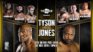 The fight will be shown on showtime in the united states. Mike Tyson Vs Roy Jones Live Stream Reddit Tonight Boxing Full Fight Main Card Start Time