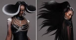 Tato Africká Bohyně Se Stala Vítězkou Soutěže O Nejkrásnější účesy