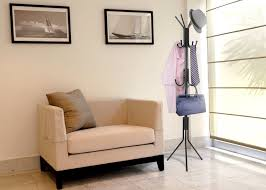 Hat And Coat Rack Tree Free Standing Coat Rack MaidMAX Hall Tree Hat and Clothes Rack with 100