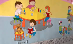 preschool wall painting ideas india youtube within best and newest preschool wall art gallery on wall art designs for preschool with photo gallery of preschool wall art showing 29 of 30 photos