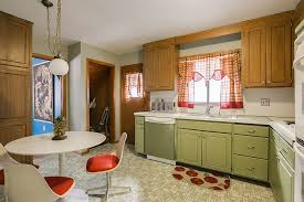 image of perfect 1970s kitchen cabinets