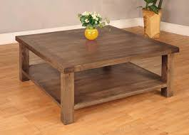 Amazing Magnificent Wood Square Coffee Table Nice All For Square Wood Coffee Tables  Style Square Coffee