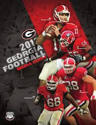 2013 Georgia Bulldogs Football Media Guide By Georgia