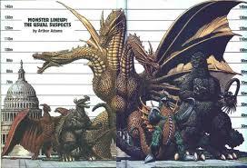 Godzilla Chart The Usual Suspects Kaiju Height Chart Godzilla