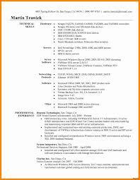 Network Administrator Resume Templates Elegant Resume Template