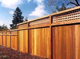 california redwood fencing flat dog
