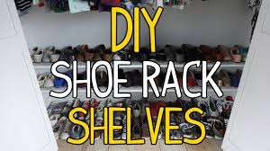 How To Make A Shoe Rack How To Build Simple Diy Shoe Rack Shelves Youtube