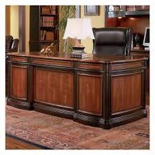 coaster pergola executive desk with felt lined drawers