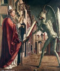 famous 15th century german renaissance painter michael pacher created this work around a legend that saint