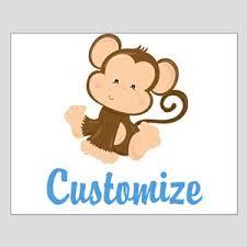 Baby Monkey Posters Cafepress