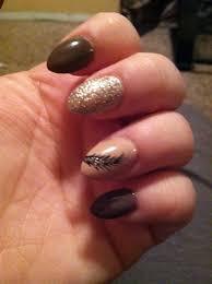 Almond Shaped Nail Designs Fall Almond Shaped Nails Nails Acrylic Nail Shapes