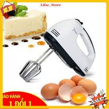 Ớ [BẢO HÀNH 6 THÁNG] Máy Đánh Trứng Cầm Tay Mini Cao Cấp Với 7 Tốc Độ Cực  Mạnh - Hoạt Động bán 230,167đ