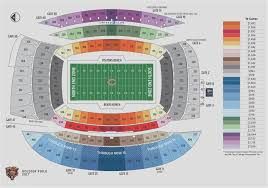 Seating Chart Soldier Field Kenny Chesney Credible Meadowlands Stadium Seating Chart Metlife Stadium
