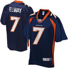 Camisetas Para Jugador Deportes Mlb Nfl Denver Retirado Broncos Elway Barato Jerseys Los Estilo Pro Venden Del Nfl L�nea Azul De En Nba - Marino Que John Descuento Nhl Mejores Jersey