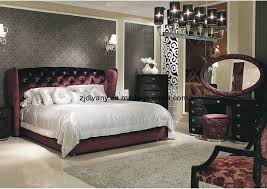 modern style bedroom furniture. China Post Modern Style Wood Bedroom Furniture Fabric