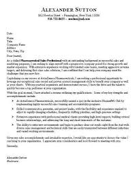 Cover Letter Template Pharmaceutical Sales Seminarie
