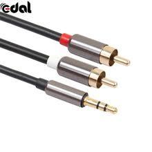 <b>3</b>,5 мм разъем на 2 RCA аудио кабель <b>разветвитель</b> AUX <b>3</b>,5 мм ...
