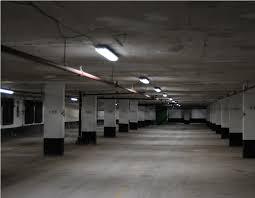 image of parking garage light fixtures