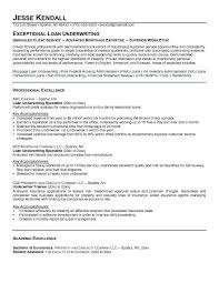 Underwriting Resume Objective Sample.insurance Underwriter Resume inside  Mortgage Underwriter Resume