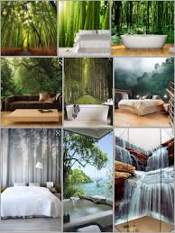 Forest Bamboo Wallpaper Bedroombathroom Ideas Interior Badkamer