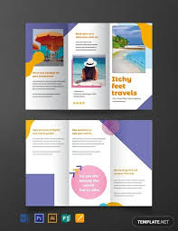 Free Holiday Travel Brochure Template Word Psd