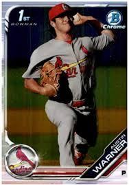 Amazon.com: 2019 Bowman Chrome Prospects #BCP-177 Austin Warner St. Louis  Cardinals Baseball Card: Collectibles & Fine Art