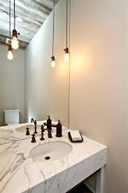 ceiling light bare bulb pendant powder room farmhouse with image by inc cover ceiling light bare bulb