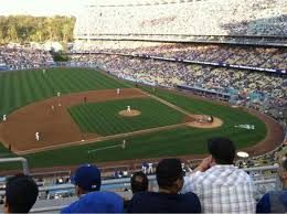 Dodger Stadium Seating Chart Infield Reserve Dodger Stadium Section 17rs Home Of Los Angeles Dodgers
