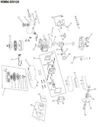 honda gxv120 engine parts and diagram lawnmower pros honda gxv120 engine parts