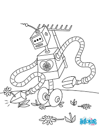 Small Picture ROBOTS coloring pages 24 Movies online coloring sheets and