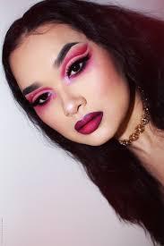edgy valentine s day makeup look lien jae