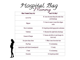 list of items needed for baby my first birthing experience little conquest