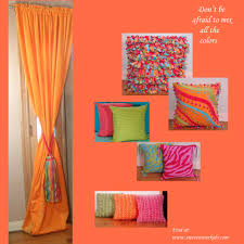 color crazy ania archer orange inspiration home decor idolza