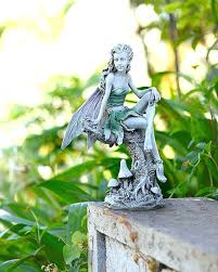garden fairies statues garden fairy statues sitting fairy ornament in grey garden fairy ornaments garden fairy garden fairies statues