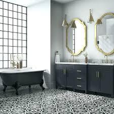 bathroom tile black and white cement floors paint floor