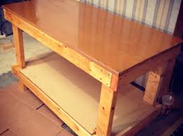 How to build a simple table Sturdy Wooden How To Make Table For Wood Shop With Simple Materials Snapguide How To Make Table For Wood Shop With Simple Materials Snapguide