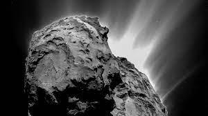Dancing debris, moveable landscape shape Comet 67P | Cornell Chronicle