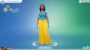 Los Sims 4 - Ropa Nueva Para Mujer (Vestido Blancanieves) - YouTube