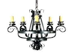 wrought iron candle chandelier wood and lights chandeliers rustic vintage cast