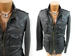 kyasi je n sheep leather shrink wrinkle processing m 65 leather jacket leather blouson cotton inside down go in black black m cleaning settled qz10547