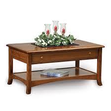 carlisle open coffee table