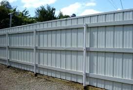 sheet metal fence panels ideas corrugated